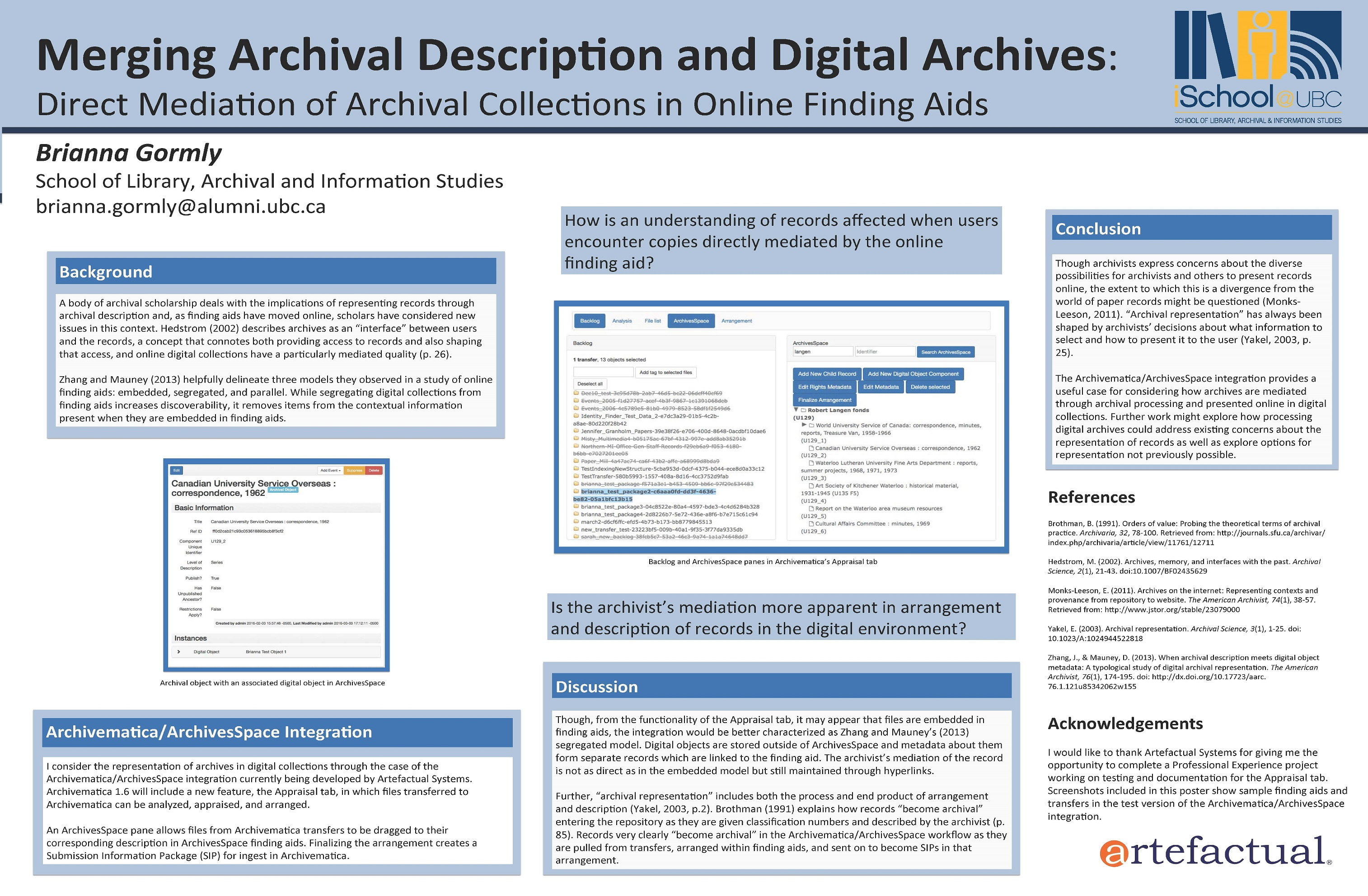 Research day ubc ischool merging archival description and digital archives 1betcityfo Choice Image