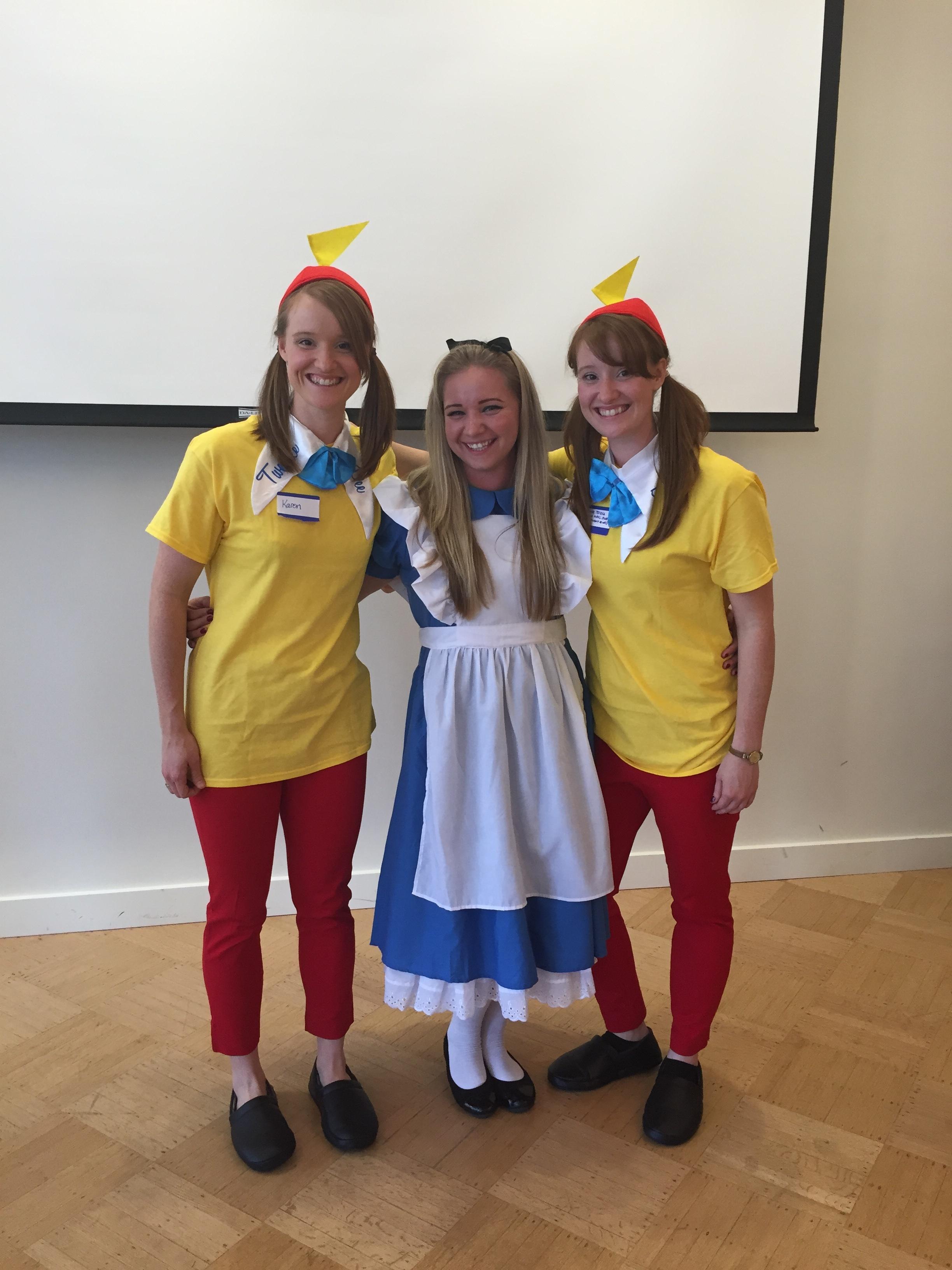 Alice and the Tweedle Twins