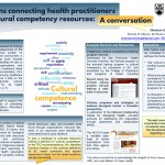 Librarians connecting health practitioners with cultural competency resources: A conversation Shannon Cheng, Robert Hamaker