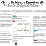 Citing Evidence Emotionally Aaron J. Loehrlein, Gillian Dunks, and Michelle Kaczmarek