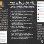 How to be a #critlib: Reflections on Implementing Critical Theory in Practice Jacob Vangeest, Blake Hawkins