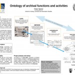 Ontology of Archival Functions and Activities Tristan Triponez
